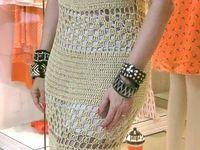 Crochê vestidos