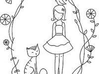 1000 images about ella coloring pages on pinterest for Ella coloring pages