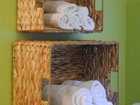 Towels organized