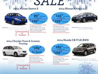 memorial day honda sale 2014