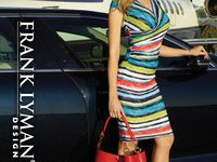 Frank Lyman Spring 2017 / Women's high fashion dresses and separates. Proudly Made In Canada