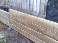 On pinterest retaining walls rock retaining wall and railroad ties