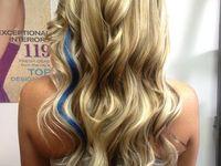 Blue hair streak