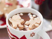 warme chocolademelk.