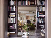 bookshelves / interior design