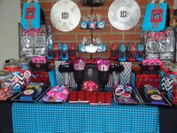 One direction birthday ideas