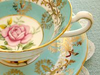Tea cups, tea kettles, and tea related things I find pretty, funky, fun, and inspiring.