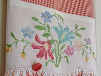 Sewing vintage linens