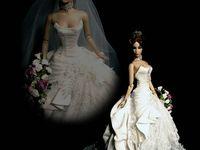 413 best Wedding dress for doll images on Pinterest ...