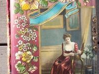 Antique celluloid photo albums