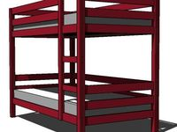 Free Bunk Bed Plans on Pinterest | Bunk Bed Plans, Bunk Bed and ...