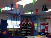 Dr. Suess theme classroom