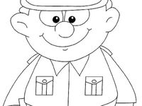 17 Best Images About Police On Pinterest Cars Stranger Officer Buckle And Gloria Coloring Pages
