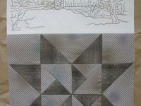 Embroidery blocks for quilting