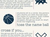 Activities for the classroom