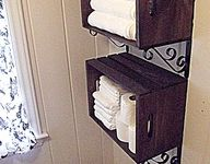 ideas on Pinterest | Wine Crates, Wall Storage and Primitive Country ...