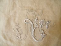 Embroidery / Broderie
