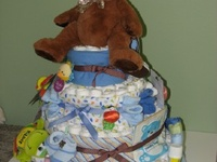 diaper cakes, bridal (household) cakes,