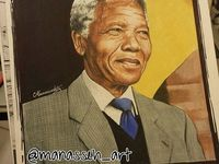 Nelson Mandela was one of the greatest leaders of the twentieth century.  Imprisoned for life by the white South African government, he became a political prisoner and symbol of apartheid.  After twenty seven years in prison, he was released and in the first democratic election, elected the first black President of South Africa.