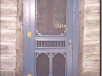 I Brake for Old Screen Doors!