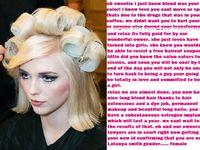 Sissy Hair Dye Story | tg captions