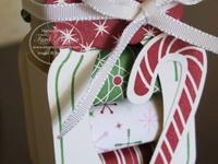 scrapbooking christmas Weihnachten Verpackung