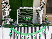 18 Soccer bake sale booth ideas | soccer party, soccer birthday parties, soccer birthday