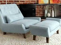 Palms Chair And Ottoman From Vioski With Images Chair And