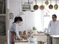 Cozinhar, comer e conversar...