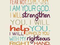 Bible verses & wise words