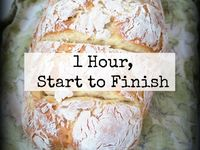 Recipes / 1-hour French bread