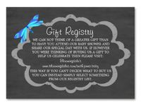1000+ images about Baby registry wording on Pinterest | Gift registry, Blue dragonfly and Baby owls