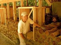 Cord wood cabins