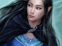 Dark Haired Elf
