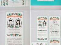 wedding invites + paper goods
