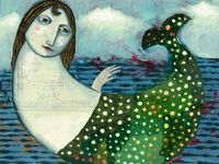 Ondine, la fée, les sirènes, Ophélie, les petits peuples des eaux, le bruits des sources des vagues, les rêves au bord de l'eau ou en dessous