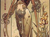 Alphonsa Mucha/Art Nouveau