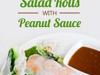 ... | Vietnamese salad rolls, Vietnamese summer rolls and Dipping sauces