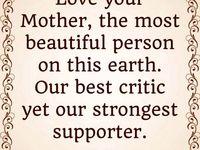 Dear mama, dear angel.