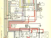 1967 Beetle Wiring Diagram Usa Vw Super Beetle Vw Engine Volkswagen Beetle