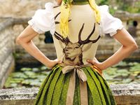 1000 images about lechtaler dirndl tracht on pinterest for Dirndl fa r mollige