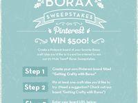Getting Crafty with 20 Mule Team Borax
