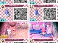 109 meilleures images du tableau QR Code Animal Crossing New Leaf | Passage d'animaux, Motif ...