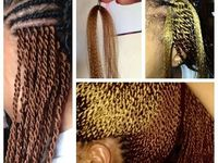 Crochet Braids Queens Ny : ... Hair on Pinterest Box Braids, Senegalese Twists and Crochet Braids