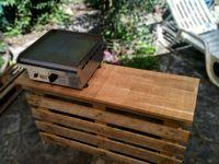 Plus de 1000 id es propos de meuble plancha sur pinterest patio en pallet - Fabriquer desserte plancha ...