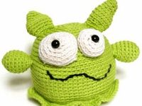 Amigurumi Little Monsters : 1000+ images about amigurumi monsters on Pinterest ...