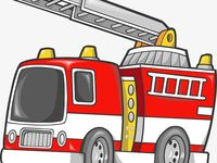 Vector Cartoon Fire Truck Cartoon Clipart Truck Clipart 119 Png Transparent Clipart Image And Psd File For Free Download Fire Trucks Fire Trucks Pictures Fire Truck Party