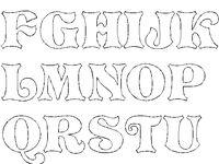 Písmena, abeceda.