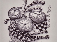 Grandma S' doodles