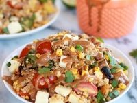 ... | Pomegranate Salad, Spinach Strawberry Salad and Vinaigrette